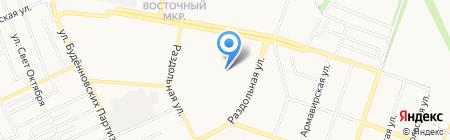 Старый Кахети на карте Донецка
