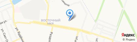 Париж на карте Донецка