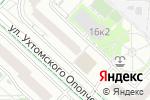 Схема проезда до компании Лупоглазик в Москве