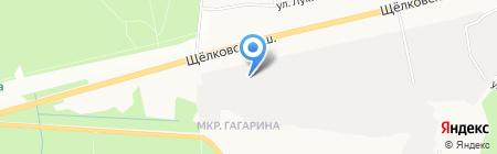 Технопрогресс на карте Балашихи