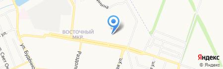 Рена-Фарм на карте Донецка