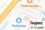 Схема проезда до компании Шиномонтажная мастерская в Лесном