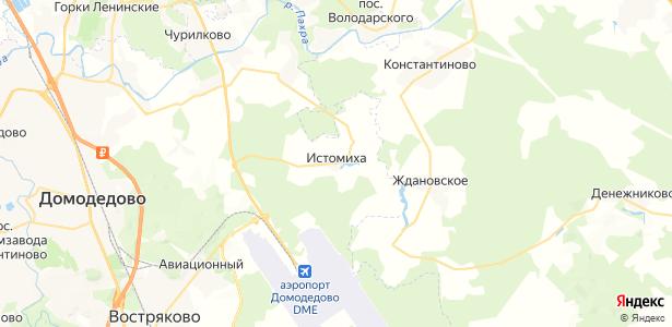 Истомиха на карте