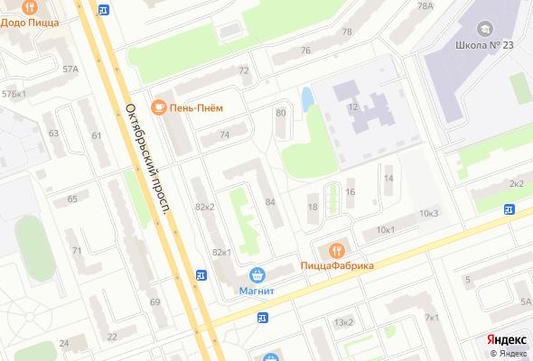 жилой комплекс Октябрьский проспект, 84