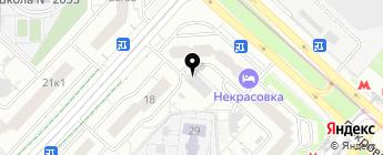 РяДОМ на карте Москвы
