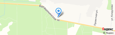 Магазин игрушек на карте Балашихи