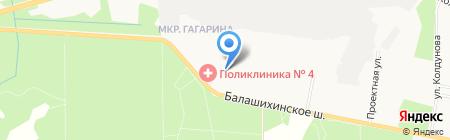 Почтовое отделение №143913 на карте Балашихи