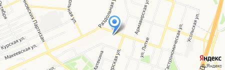 ZOOmarket на карте Донецка