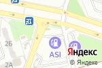 Схема проезда до компании ASI в Донецке