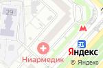 Схема проезда до компании Московские окна в Москве