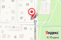Схема проезда до компании Рекламное агентство в посёлке городского типа Лесной