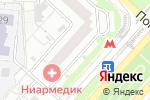 Схема проезда до компании Лабиринт.ру в Москве