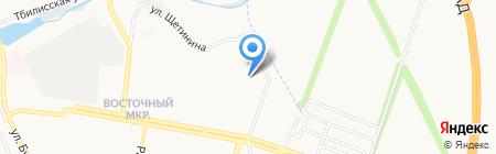 Надiя на карте Донецка