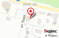 Схема проезда до компании Порт-Апрель в Череповце