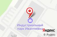 Схема проезда до компании Традиция-К в Ивантеевке