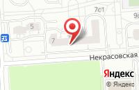 Схема проезда до компании Принтерра в Москве