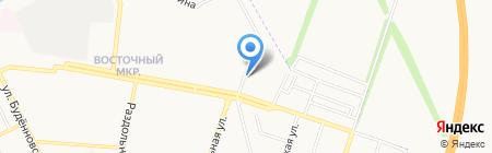 Акватория на карте Донецка