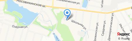 Усадьба Новая Салтыковка на карте Балашихи