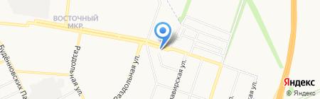 Кольцо на карте Донецка