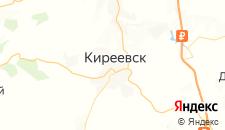 Отели города Киреевск на карте