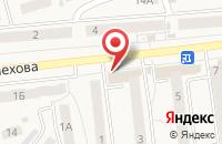 Схема проезда до компании Магнит в Киреевске