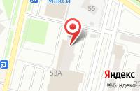 Схема проезда до компании Две Звезды в Череповце