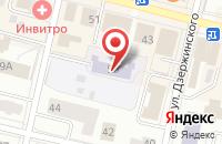 Схема проезда до компании Одуванчик в Череповце