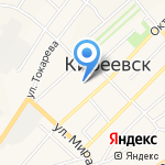 Магазин автотоваров на карте Киреевска