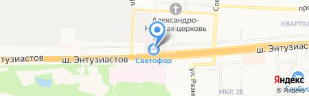 Платежный терминал КБ СДМ-БАНК на карте Балашихи