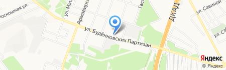 УКРСИББАНК ПАО на карте Донецка