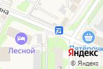 Схема проезда до компании Магазин цветов в Лесном