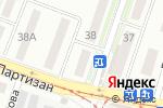 Схема проезда до компании Ева в Донецке