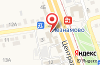Схема проезда до компании Золотой Фазан в Незнамово