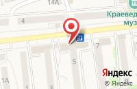 Схема проезда до компании Альянс-М в Киреевске