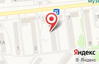 Схема проезда до компании Фея в Киреевске