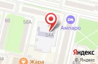 Схема проезда до компании Детский сад №127 в Череповце
