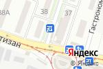 Схема проезда до компании Поляна №1 в Донецке