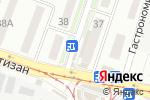 Схема проезда до компании Сластёна в Донецке