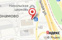 Схема проезда до компании Восток-Сервис-Черноземье в Незнамово