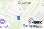 Схема проезда до компании Мини-маркет в Лесном