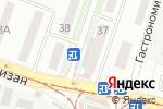 Схема проезда до компании Уют в Донецке