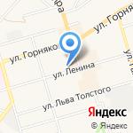 Отдел МВД России по Киреевскому району на карте Киреевска