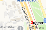 Схема проезда до компании Памятники в Незнамово