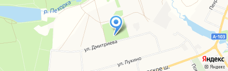 Атаман на карте Балашихи