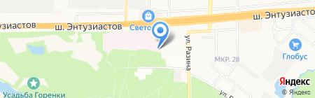 Балашихинское районное судебно-медицинское отделение на карте Балашихи