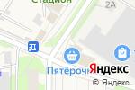 Схема проезда до компании Магазин фастфудной продукции в Лесном