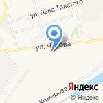 Мастерская по ремонту одежды на карте Киреевска