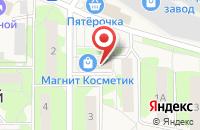 Схема проезда до компании ГорЗдрав в посёлке городского типа Лесной