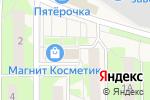 Схема проезда до компании Администрация городского поселения Лесной в Лесном