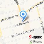 Дворцовский на карте Киреевска